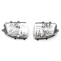 For Volvo XC70 XC90 Pair Front Wing Mirror Turn Signal Light Indicator Lamp Lens