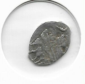 Rare Old 1561-1584 Ivan The Terrible IV Russian Silver Collection Coin LOT A65