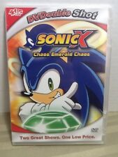 Sonic X: Chaos Emerald Chaos (DVD, Slim-case) New & Sealed