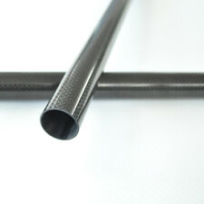 OD 9mm x ID 8mm x Length 500mm Carbon Fiber Tube Roll Wrapped 9mm Carbon rod 9*8