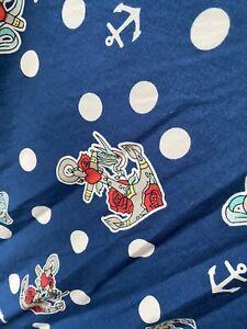Hell Bunny 4xl Dress Blue