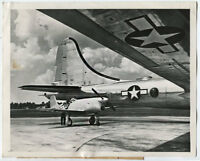 WWII US Army Air Force Foto Bell Aircraft XP-77 Prototyp B-29 Superfortress 1945