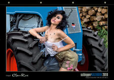 Schlepperkalender 2019 Werkstatt Schlepper Traktor Oldtimer Bulldog Trecker sexy