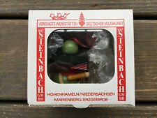 STEINBACH WOOD CHRISTMAS ORNAMENT, BOY SCOUT,  Hand Made