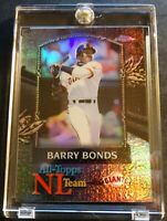 2000 BARRY BONDS TOPPS CHROME ALL TOPS REFRACTOR #AT7 CENTERED (606)