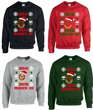 Wonder Why Christmas Missed Us | Biggie Ugly Christmas Sweater | Holiday Sweater