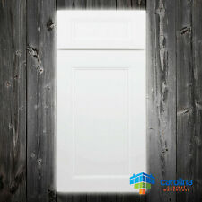 Solid Wood RTA Cabinet Sample Door, Wood Kitchen Cabinets Color: Uptown White