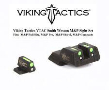 Viking Tactics VTAC Fiber Trit. Front Rear Sights for S&W Smith M&P MP Pistols