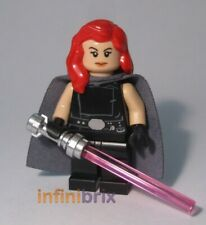Lego CUSTOM Mara Jade (Emperors Hand) Star Wars Minifigure BRAND NEW cus267