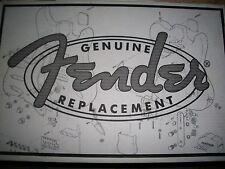 Fender® MIM 3-Color Sunburst Alder Strat Body~Brand New!!