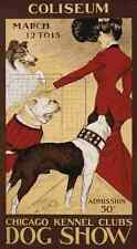 A4 Photo Morris George Ford Chicago dog show 1902 Print Poster
