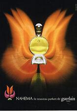 PUBLICITE ADVERTISING 114  1979  GUERLAIN le nouveau parfum NAHEMA