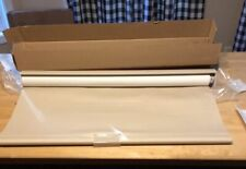 30x66 Linen Cordless Blind Roller Sun Shade In Taupe