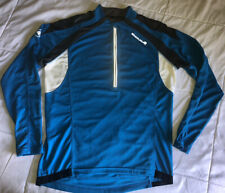 ENDURA CYCLING PULLOVER 1/2 Zip Back Pockets Long Sleeve Shirt, Jacket, Jersey