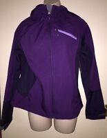 "FREE TECH Women's Active Softshell Jacket ""PURPLE PRUNE"" Size S (4-6) Winter NWT"