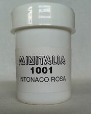 MINITALIA MODELTRENO COLORE ROSA INTONACO QUARZATO FS art. MI 1001