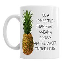 Ser un soporte de piña alto desgaste una corona de Cerámica Novedad Oficina Regalo Taza De Café
