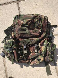 British Army Bergen Backpack Rucksack DPM Camo Framed Bergan Military Surplus