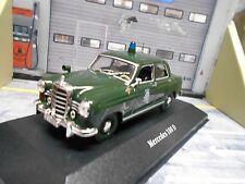 MERCEDES BENZ 180 180D Ponton Polizei Police Deutschland De Agostin S-Preis 1:43