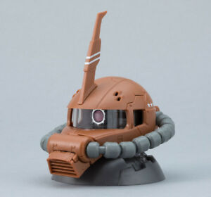 Gundam Exceed Model Vol.3 Zaku Head Figure ~ Garma Zabi's Zaku Orange @20061
