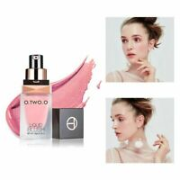 O.TWO.O Professional Face Makeup Shimmer Long Lasting Liquid Blusher Blend #/-