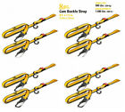 """Goodyear Extra Heavy Duty 1-1/2"""" Ratchet Tie Down Straps Quick Release 8 Straps"""