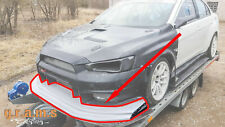 Varis Style Front Bumper Lip for Mitsubishi Lancer Evo X v8