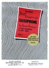 Basic Jazz Conception Vol. 1 mit CD for Saxophone - Lennie Niehaus NEU PORTOFREI