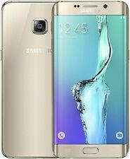 Samsung Galaxy S6 Edge Gold SM-G925F - 32GB Smart Phone / Unlocked
