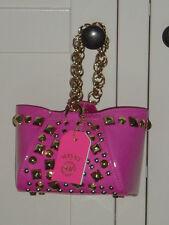 Versace for H&M kleine süße Tasche Designer Bag Lackleder Nieten pink