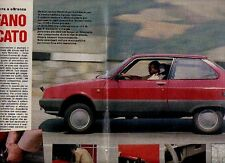 Z48 Ritaglio Clipping 1985 Citroen Axel