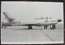 AVIATION, PHOTO AVION DASSAULT MD MYSTERE IV N, NON RETENU, PROTOTYPE