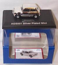 Silver Plated mini Cooper 1-43 scale mib ltd ed