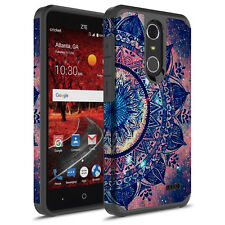 For ZTE Grand X4/Blade Spark/Z956 Hybrid Graphic FashionColorful Silicone Case