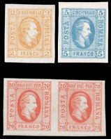 Romania #22-24 MHR CV$185.00 Alexandru Loan Cuza