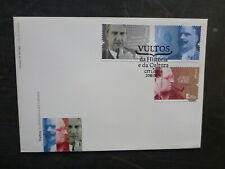 PORTUGAL 2016 HISTORICAL FIGURES SET 3 STAMPS FDC FIRST DAY COVER