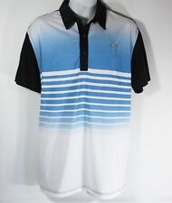 NEW Men's XXL PUMA Dry Cell Striped Golf Polo Athletic Shirt size 2XL NWT