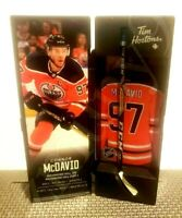 2020 CONNOR MCDAVID TIM HORTONS LIMITED EDITION NHL COLLECTIBLE STICKS / LOCKER