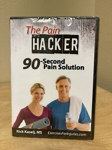 The Pain Hacker 90-Second Pain Solution: Rick Kaselj, MS (DVD, 2015) - BRAND NEW