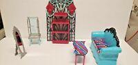 Monster High Doll Furniture Accessories Lot Mattel