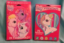 My Little Pony G3 Valentine's Cards 2 boxes, 1 sealed