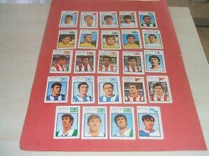 LOTE DE 44 CROMOS FHER/DISGRA 1971/1972 NUNCA PEGADOS:VER FOTOS:71/72:**OJO LEE!