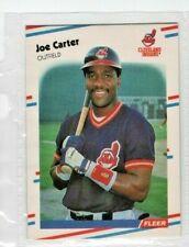 1988 Fleer #605 Joe Carter Cleveland Indians Baseball Card