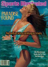 Sports Illustrated Swimsuit 2/86,Elle MacPherson,February 1986,NEW