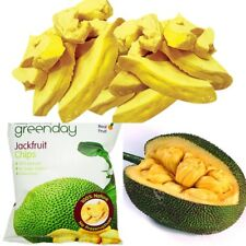 Dried tropical crispy Jackfruit Chips Fruit no sugar natural delicious snack