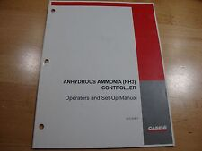 Case IH Anhydrous Ammonia NH3 Controller operators set up manual