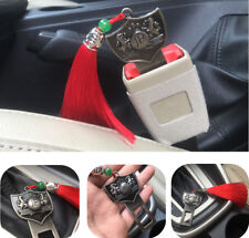 1Pcs JP Junction Produce Vip Red Tassel Seat Belt Insert Buckle All Clear Push