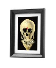 Salvador Dali Ballerina and skull canvas print framed giclee art reproduction