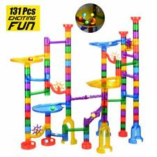 Marble Run Track Set 122Pcs Marble Maze STEM Learning Toy, Educational...