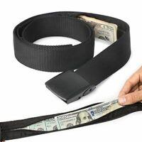 Travel Hidden Cash Money Belt Bag Funny Pack Anti Theft Waist Packs Pouch Wallet